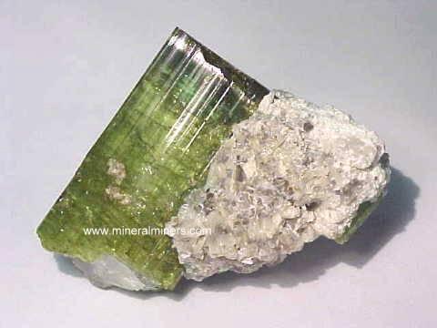 Green Tourmaline Mineral SpecimensGreen Minerals Names