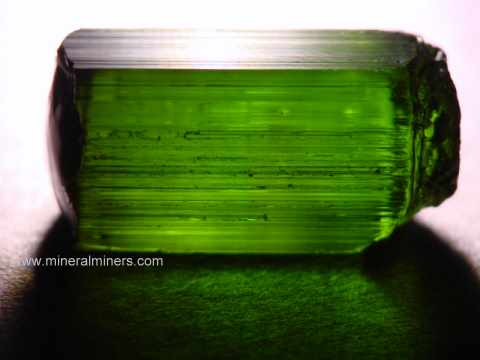 Green Tourmaline Facet Rough