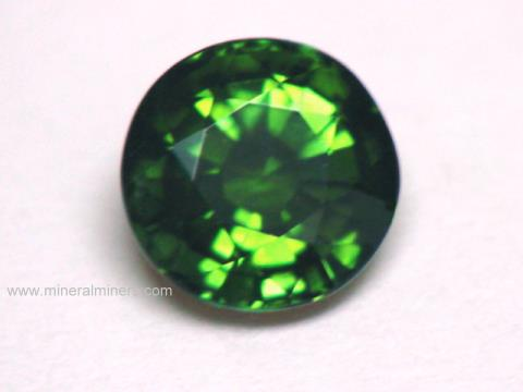 Green Tourmaline Gemstones