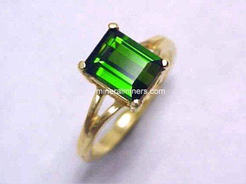 Green Tourmaline Jewelry Stud Earrings Pendants