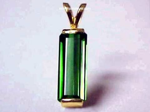 Large Image of tgrj313_green-tourmaline-jewelry