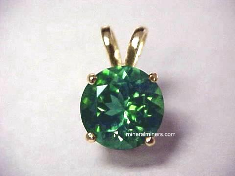 Large Image of tgrj316_green-tourmaline-jewelry