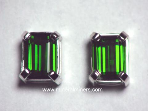 Large Image of tgrj340a_green-tourmaline-earrings