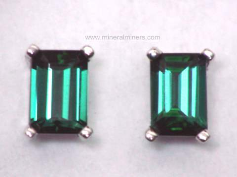 Large Image of tgrj345_green-tourmaline-earrings