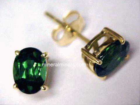 Large Image of tgrj374_green-tourmaline-earrings