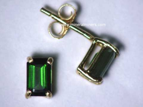 Large Image of tgrj382_green-tourmaline-earrings