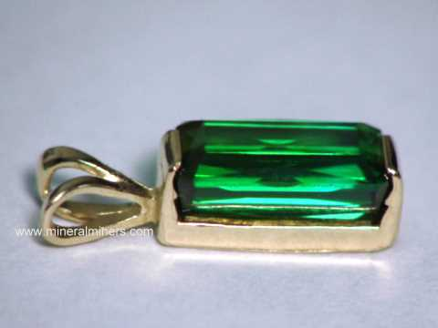 Large Image of tgrj384_green-tourmaline-jewelry