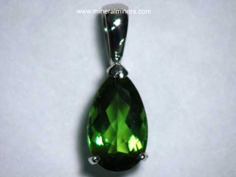 Large Image of tgrj386_green-tourmaline-jewelry