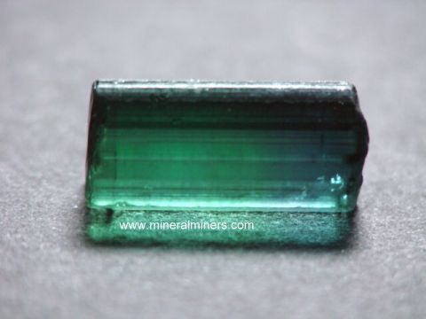 Bi-Color Tourmaline Facet Grade Rough