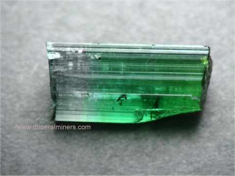 Bi-Color Tourmaline Lapidary Rough
