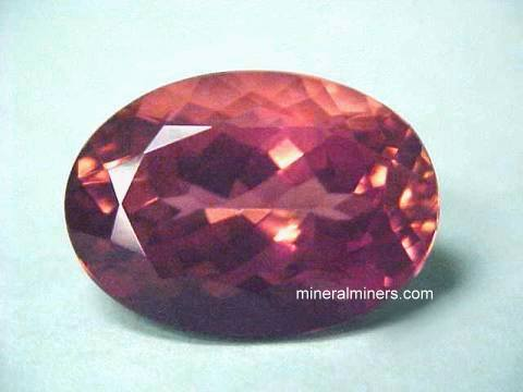 Sunset Tourmaline Gemstone