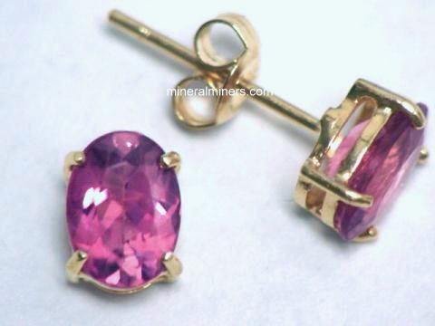 Large Image of trbj234aa_pink-tourmaline-earrings