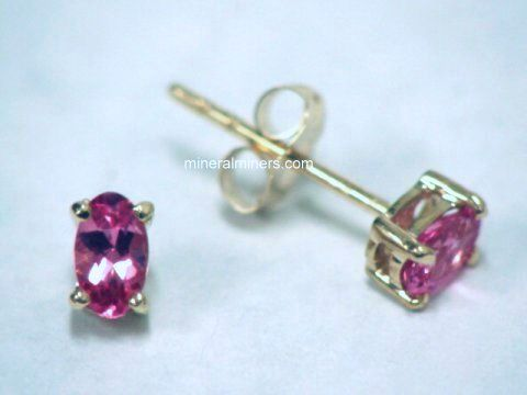 Large Image of trbj257_pink-tourmaline-earrings