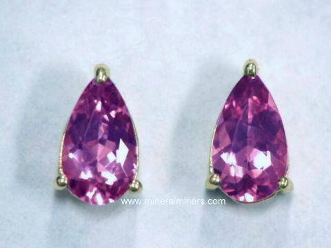 Large Image of trbj282_pink-tourmaline-earrings