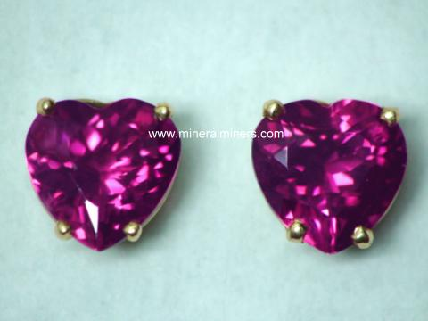 Large Image of trbj305_pink-tourmaline-earrings