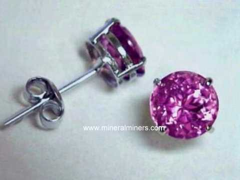 Large Image of trbj330_pink-tourmaline-earrings