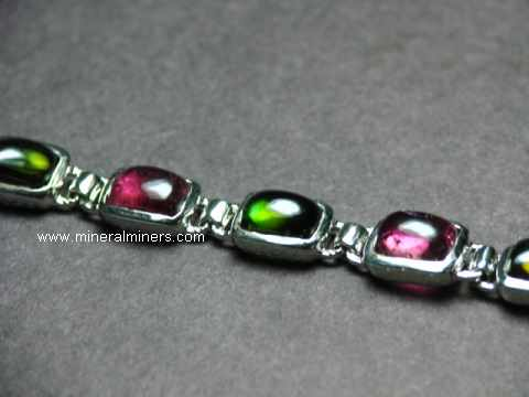 Multi-Color Tourmaline Bracelets