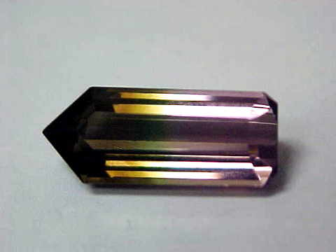 Multi-Color Tourmaline Gemstone