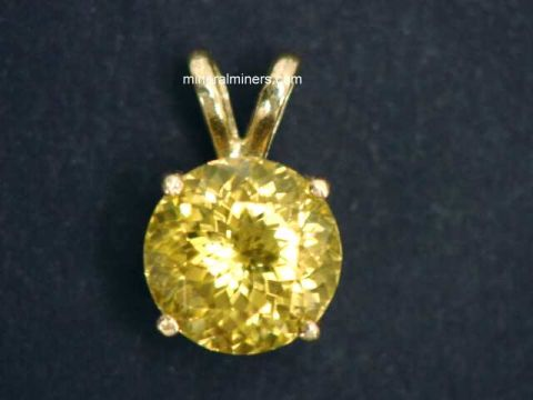 Zircon Jewelry: Yellow Zircon Jewelry